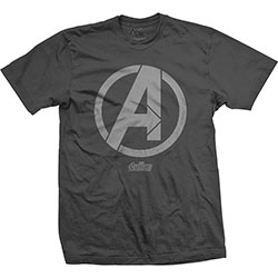 Marvel Comics Unisex Tee: Avengers Infinity War A Icon (X-Large Only)