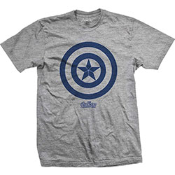 Marvel Comics Men's Tee: Avengers Infinity War Capt. America Icon