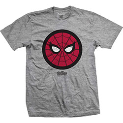Marvel Comics Men's Tee: Avengers Infinity War Spidey Icon Pop
