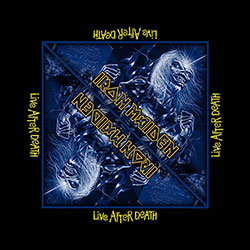 Iron Maiden Men's Bandanna: Live After Death