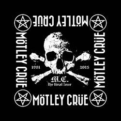 Motley Crue Unisex Bandana: The Final Tour