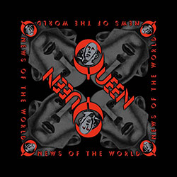Queen Unisex Bandana: News of the World