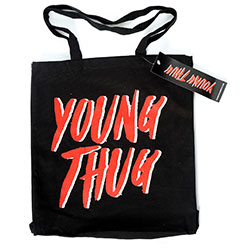 Young Thug Cotton Tote Bag: Logo