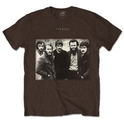 The Band Unisex Tee: Group Photo