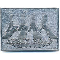 The Beatles Belt Buckle: Abbey Road Crossing