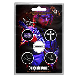 Tony Iommi Button Badge Pack: Iommi