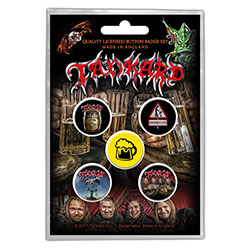 Tankard Button Badge Pack: One Foot in the Grave (Retail Pack)