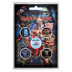 Iron Maiden Button Badge Pack: Later Albums (Retail Pack)