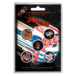 Judas Priest Button Badge Pack: Turbo
