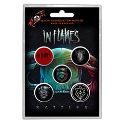 In Flames Button Badge Pack: Battles (Retail Pack)