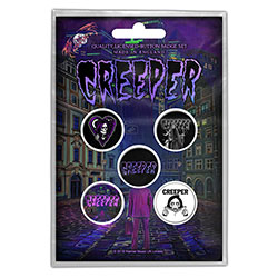 Creeper Button Badge Pack: Eternity In Your Arms (Retail Pack)