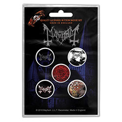 Mayhem Button Badge Pack: De Mysteriis Dom Sathanas (Retail Pack)