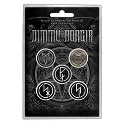 Dimmu Borgir Button Badge Pack: Eonian (Retail Pack)