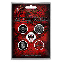 At The Gates Button Badge Pack: Drink From Night Itself (Retail Pack)