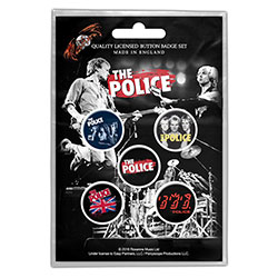 The Police Button Badge Pack: Various (Retail Pack)
