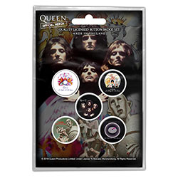 Queen Button Badge Pack: Early Albums (Retail Pack)