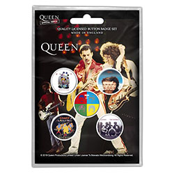 Queen Button Badge Pack: Later Albums (Retail Pack)