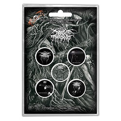 Darkthrone Button Badge Pack: Old Star (Retail Pack)
