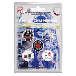 Red Hot Chili Peppers Button Badge Pack: By The Way (Retail Pack)