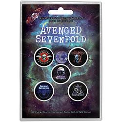 Avenged Sevenfold Button Badge Pack: The Stage