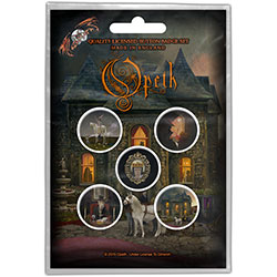 Opeth Button Badge Pack: In Caude Venenum (Retail Pack)