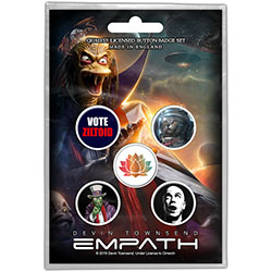Devin Townsend Button Badge Pack: Ziltoid