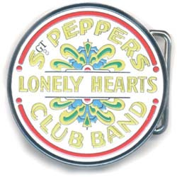 The Beatles Belt Buckle: Sgt Pepper Drum