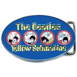 The Beatles Belt Buckle: Yellow Submarine Portholes