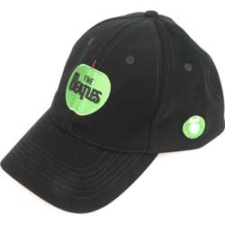The Beatles Men's Baseball Cap: Apple Logo