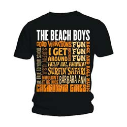 The Beach Boys Unisex Tee: Best of SS