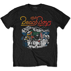 The Beach Boys Unisex Tee: Live Drawing