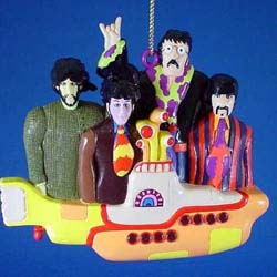 The Beatles Hanging Ornament: Yellow Submarine