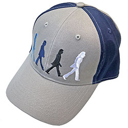 The Beatles Unisex Baseball Cap: Abbey Road Figures (2-Tone)