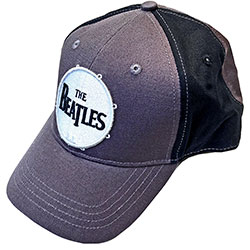The Beatles Unisex Baseball Cap: Drum Logo (2-Tone)