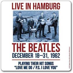 The Beatles Single Cork Coaster: 1962 Hamburg