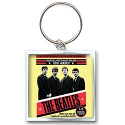 The Beatles Standard Key-Chain: 1962 Port Sunlight