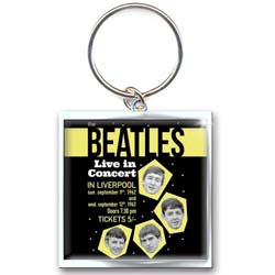 The Beatles Standard Keychain: 1962 Live in Concert