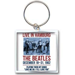The Beatles Standard Key-Chain: 1962 Hamburg