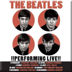 The Beatles Fridge Magnet: Performing Live