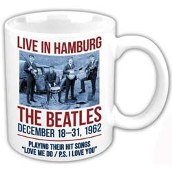 The Beatles Boxed Standard Mug: Hamburg 1962