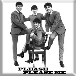 The Beatles Fridge Magnet: Please, Please Me