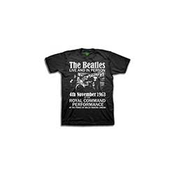 The Beatles Kid's Tee: Live & in Person (Boy's Fit)