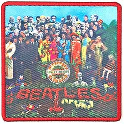 The Beatles Standard Patch: Sgt. Pepper's…. Album Cover (Loose)