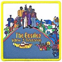 The Beatles Standard Patch: Yellow Submarine Album Cover (Loose)