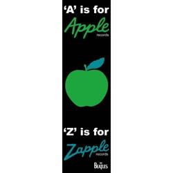 The Beatles Bookmark: A is for Apple