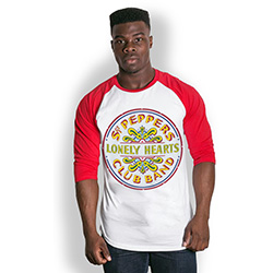 The Beatles Men's Raglan Tee: Sgt Pepper