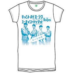 The Beatles Kid's Tee: Can't Buy Me Love Japan (Boy's Fit)