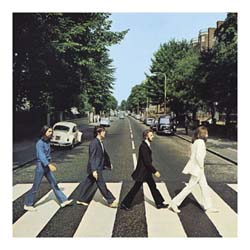 The Beatles Greetings Card: Abbey Road