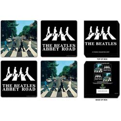 The Beatles Coaster Set: Abbey Road