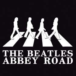 The Beatles Single Cork Coaster: Abbey Road